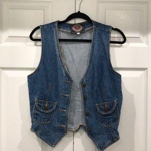 Vintage Paris Blues vest